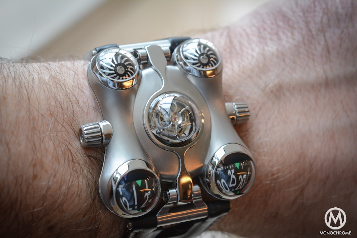 MB&F HM6 horological Machine 6 Space Pirate - 6