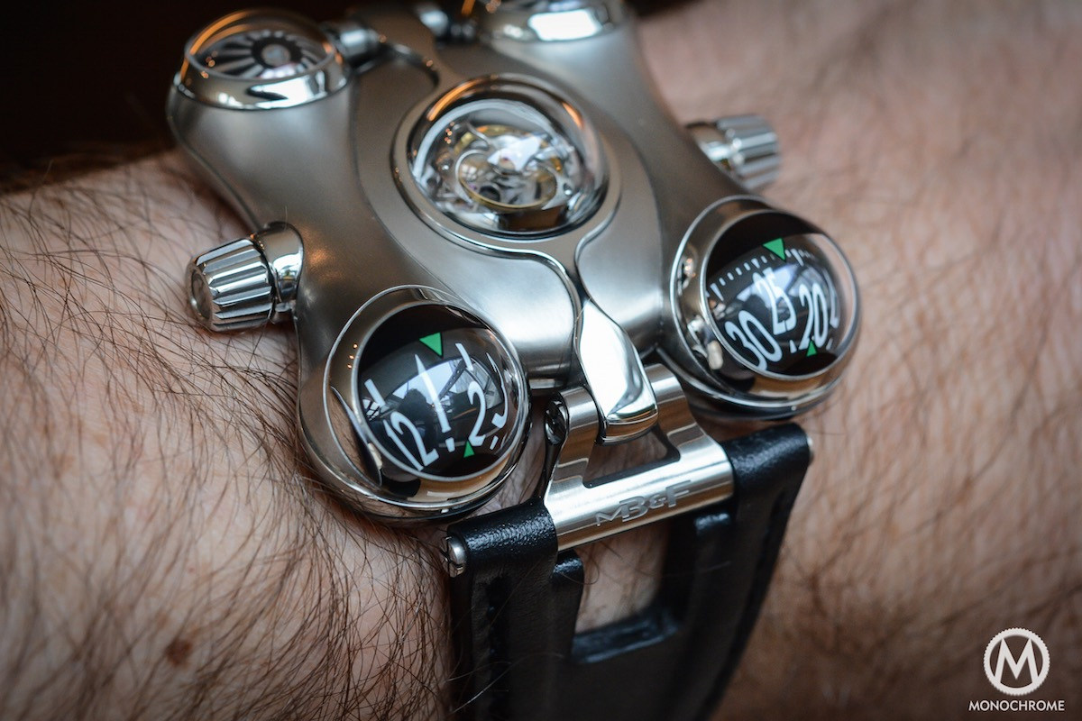 MB&F HM6 horological Machine 6 Space Pirate - 7