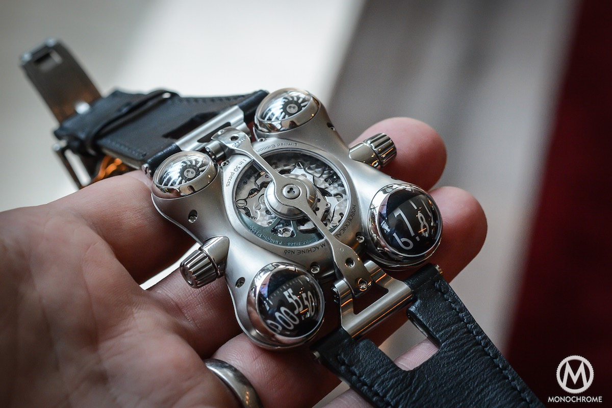 MB&F HM6 horological Machine 6 Space Pirate - 8