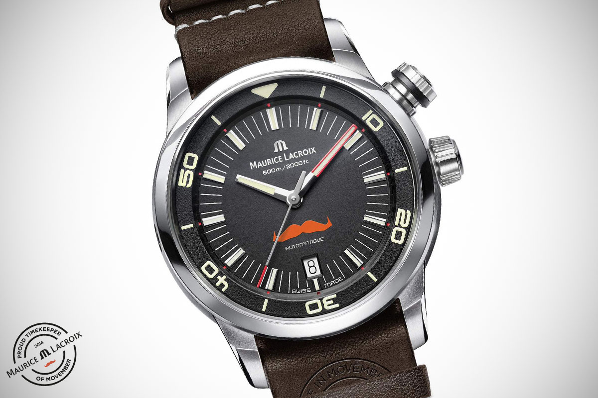 Maurice Lacroix Pontos S Diver Movember - 1