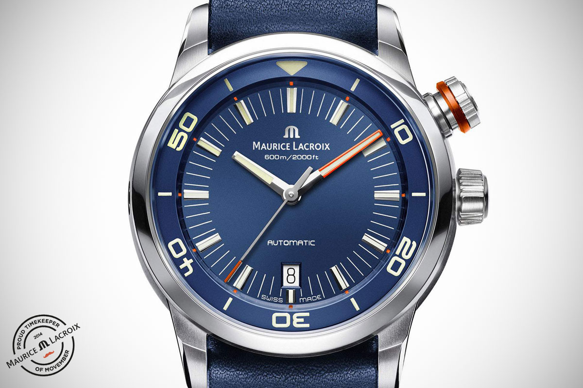 Maurice Lacroix Pontos S Diver Movember - 2