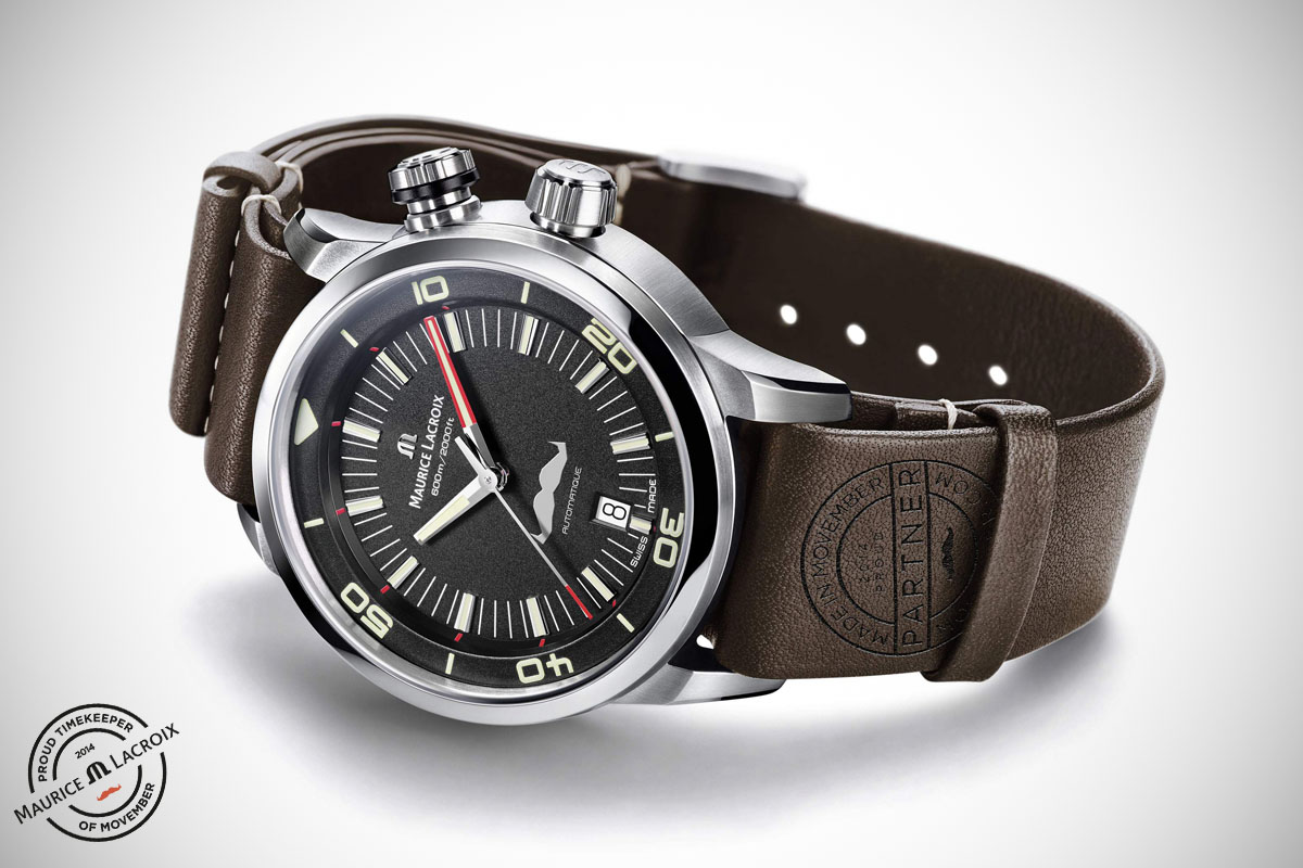 Maurice Lacroix Pontos S Diver Movember - 3
