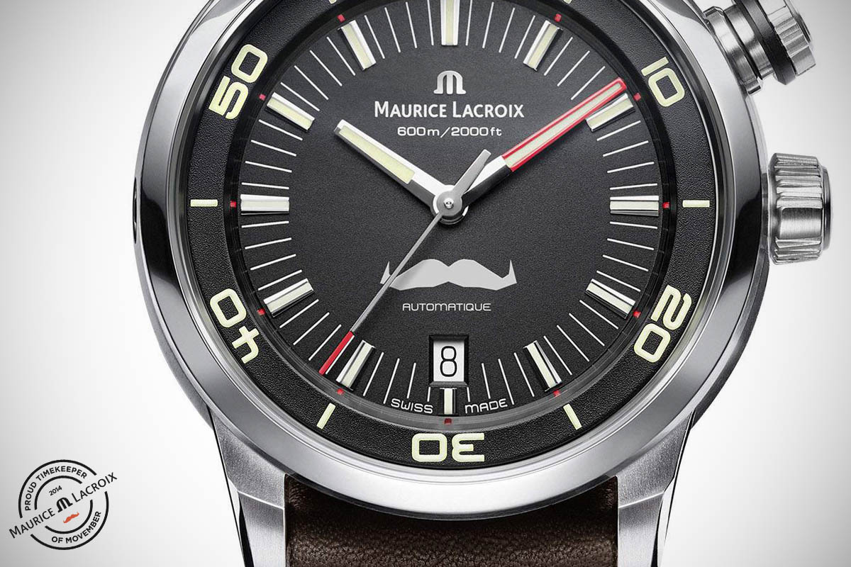 Maurice Lacroix Pontos S Diver Movember - 4