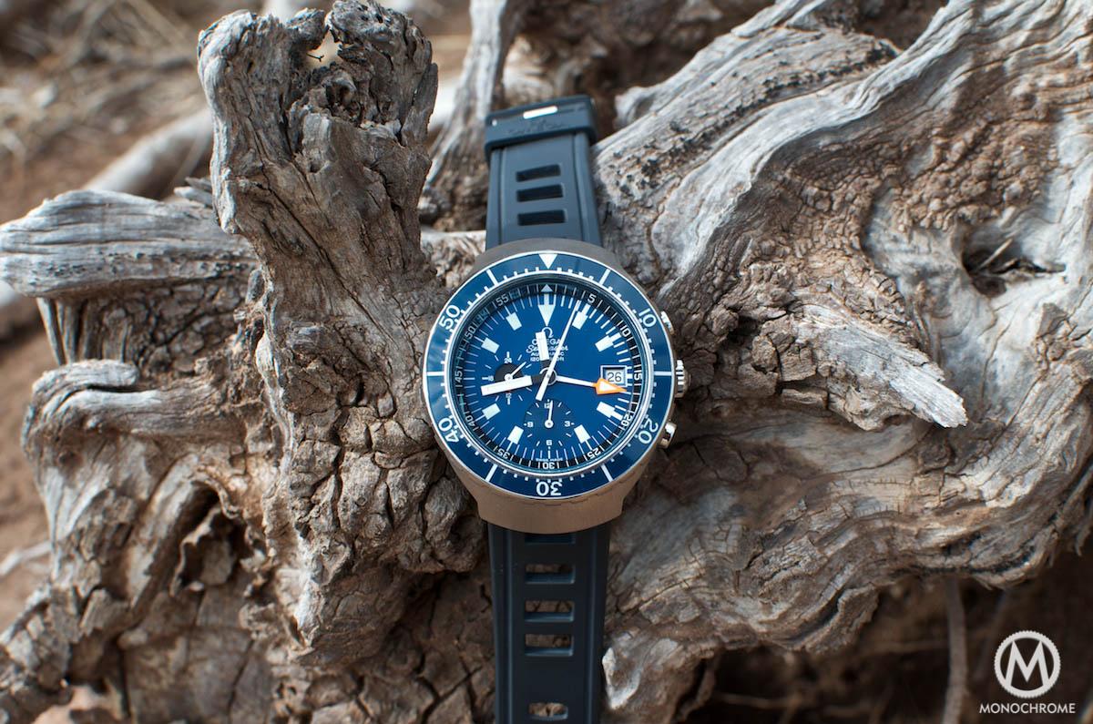 Omega Seamaster 120m Chronograph Big Blue Ref.176.004