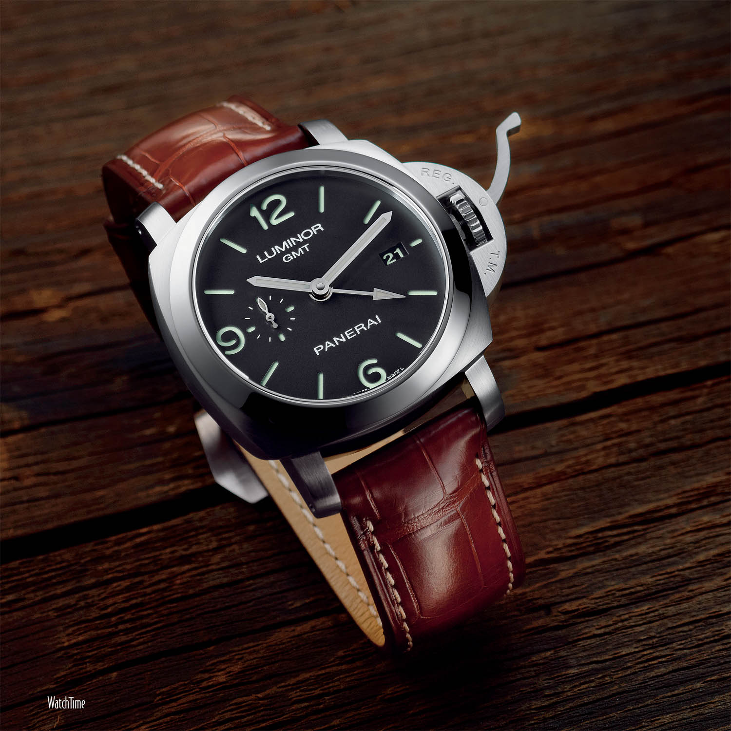 Panerai Luminor 1950 3 Days GMT - PAM 320 - 2