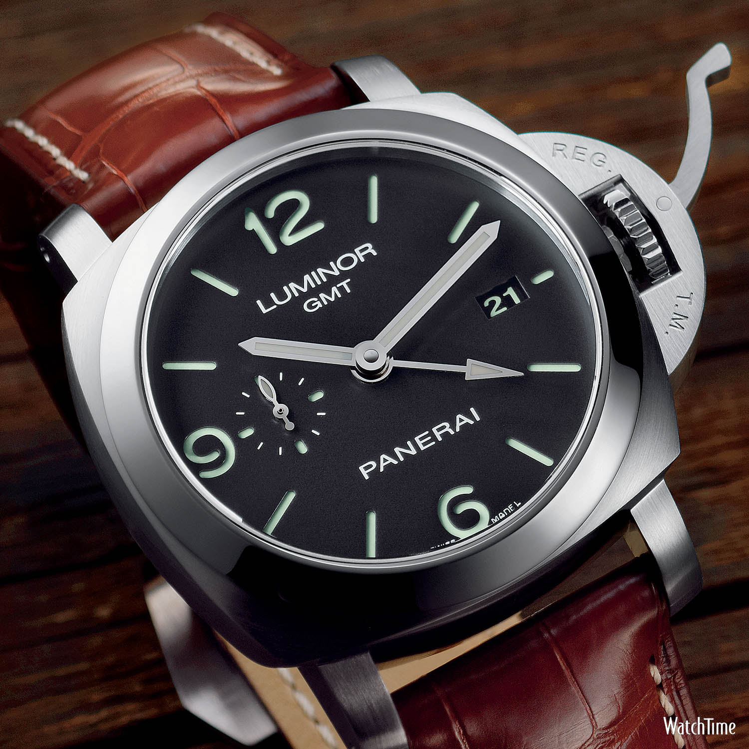 Panerai Luminor 1950 3 Days GMT - PAM 320 - 6