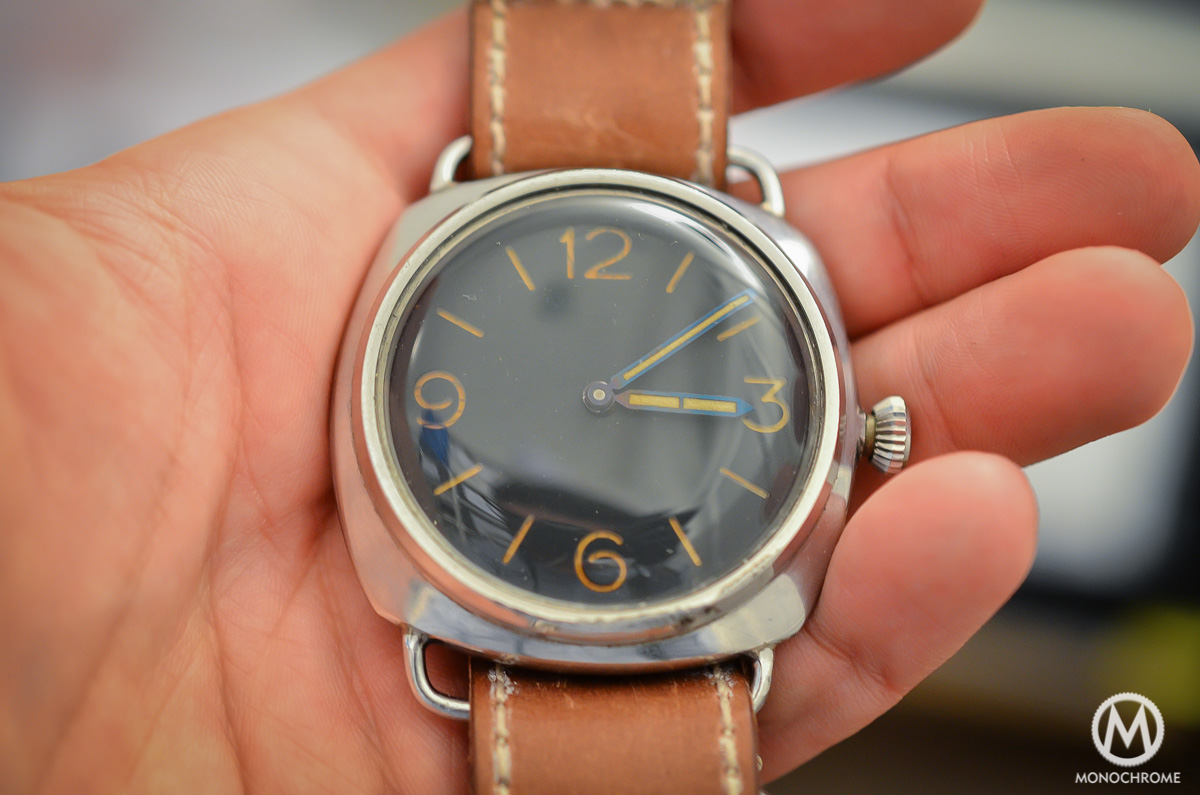 Panerai Radiomir Rolex Ref. 3646 vintage patina - 1