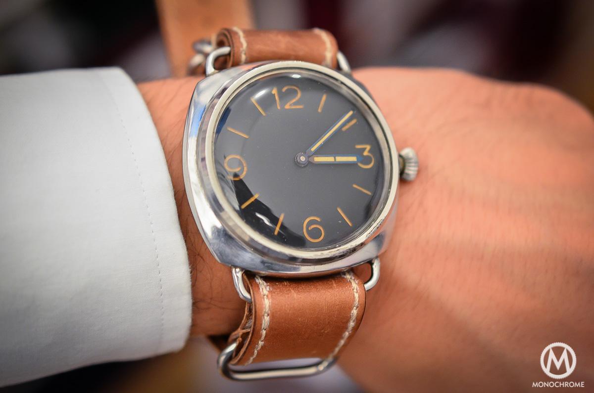 Panerai Radiomir Rolex Ref. 3646 vintage patina - 2