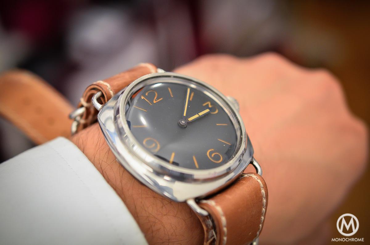 Panerai Radiomir Rolex Ref. 3646 vintage patina - 3