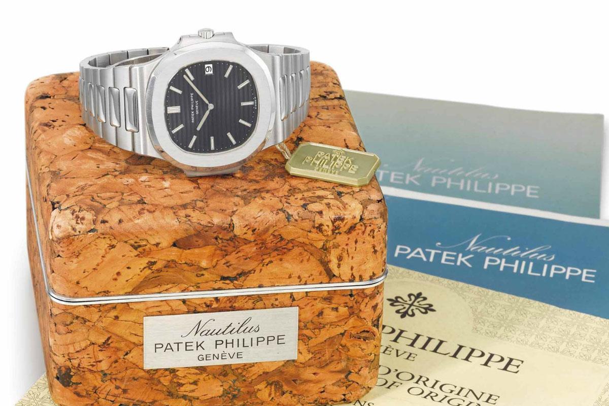 Patek Philippe Nautilus 3700 - Patek 175 Auction christies