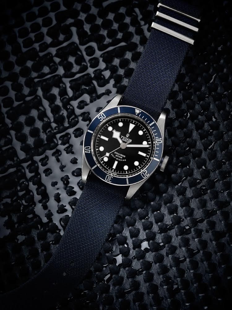 Tudor Black Bay with Midnight Blue bezel