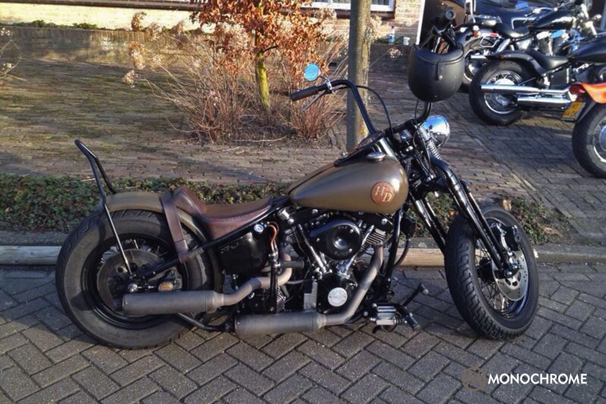 Vintage 1963 Harley Davidson Shovelhead