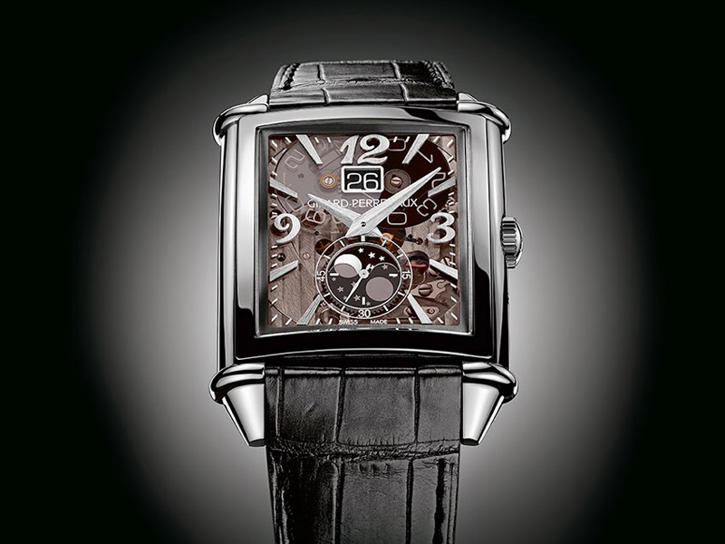 Girard-Perregaux Vintage 1945 large date and moon phases