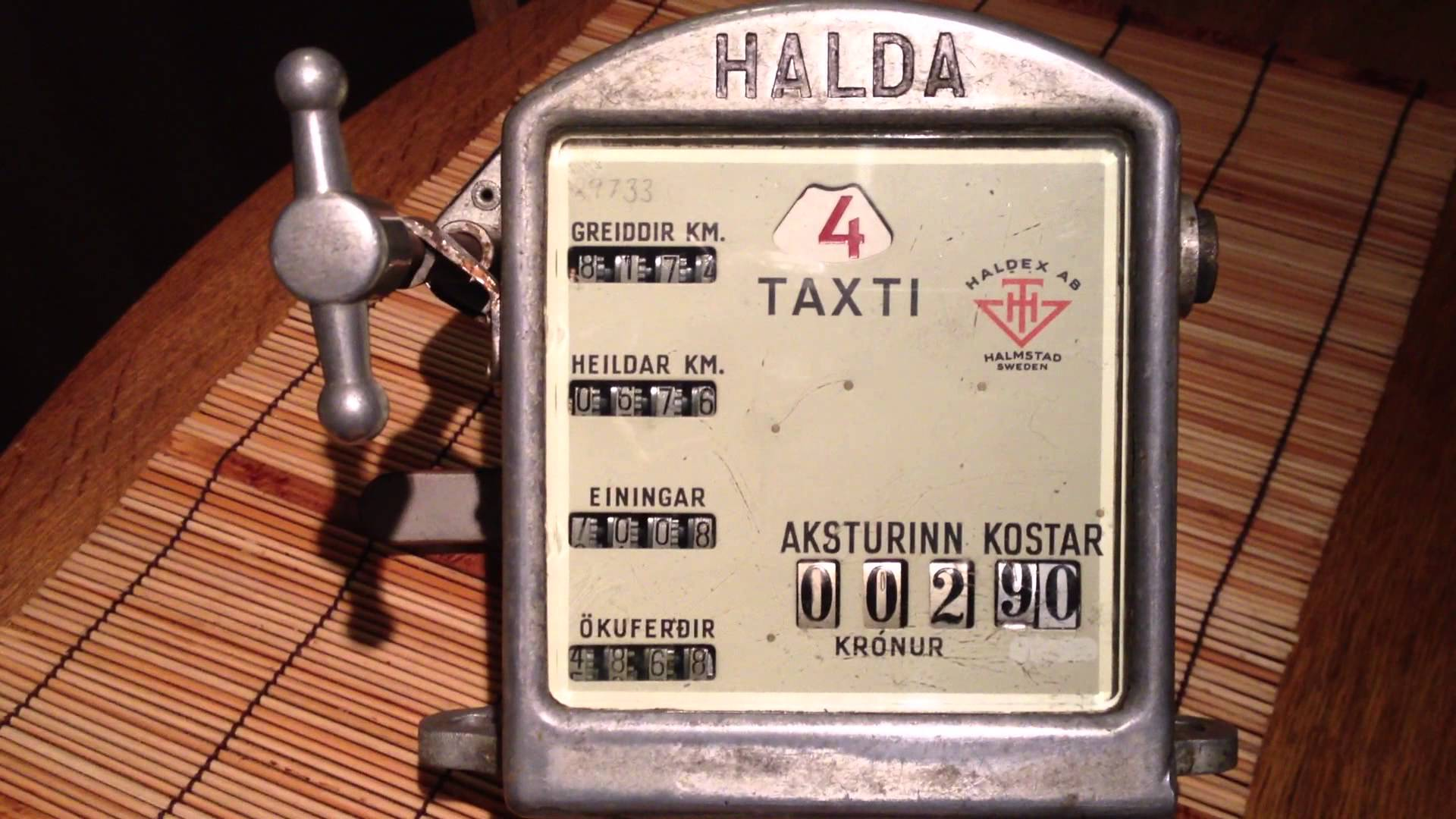 Hilda taxi meter