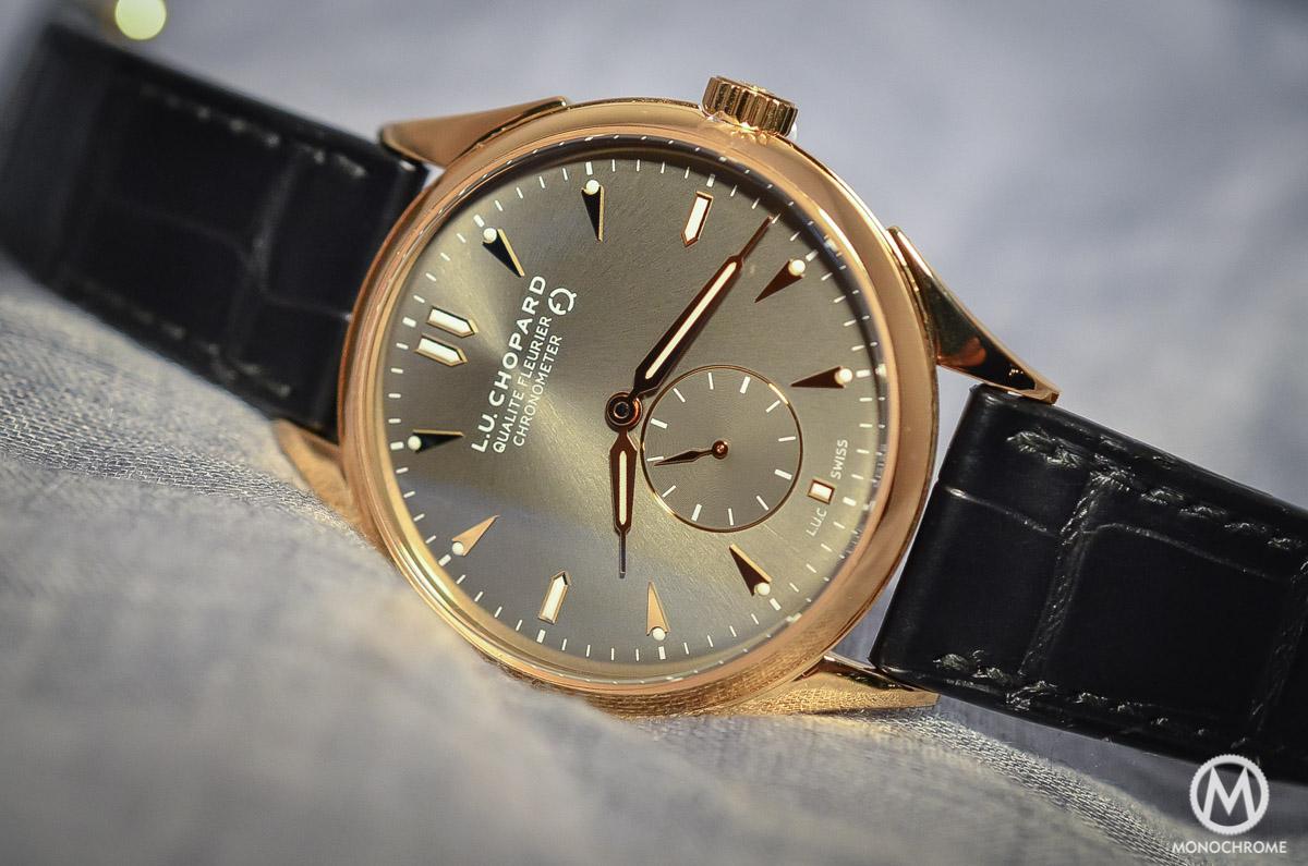 Chopard L.U.C Qualite Fleurier Ruthenium Chronometer - 1