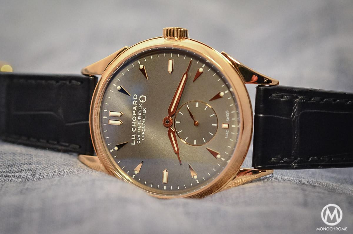Chopard L.U.C Qualite Fleurier Ruthenium Chronometer - 2