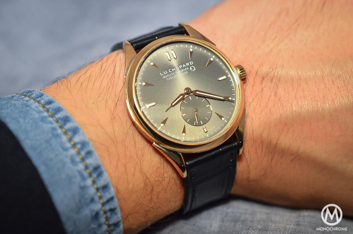 Chopard L.U.C Qualite Fleurier Ruthenium Chronometer - 3