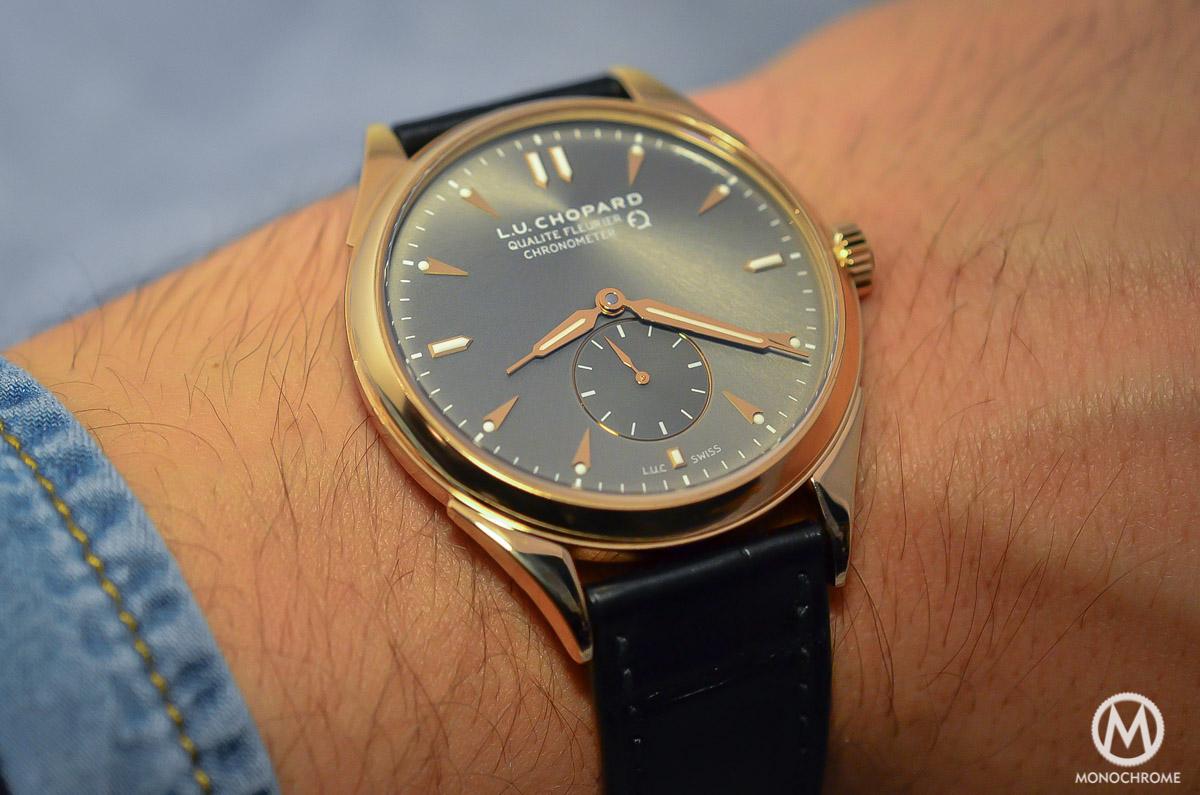 Chopard L.U.C Qualite Fleurier Ruthenium Chronometer - 4