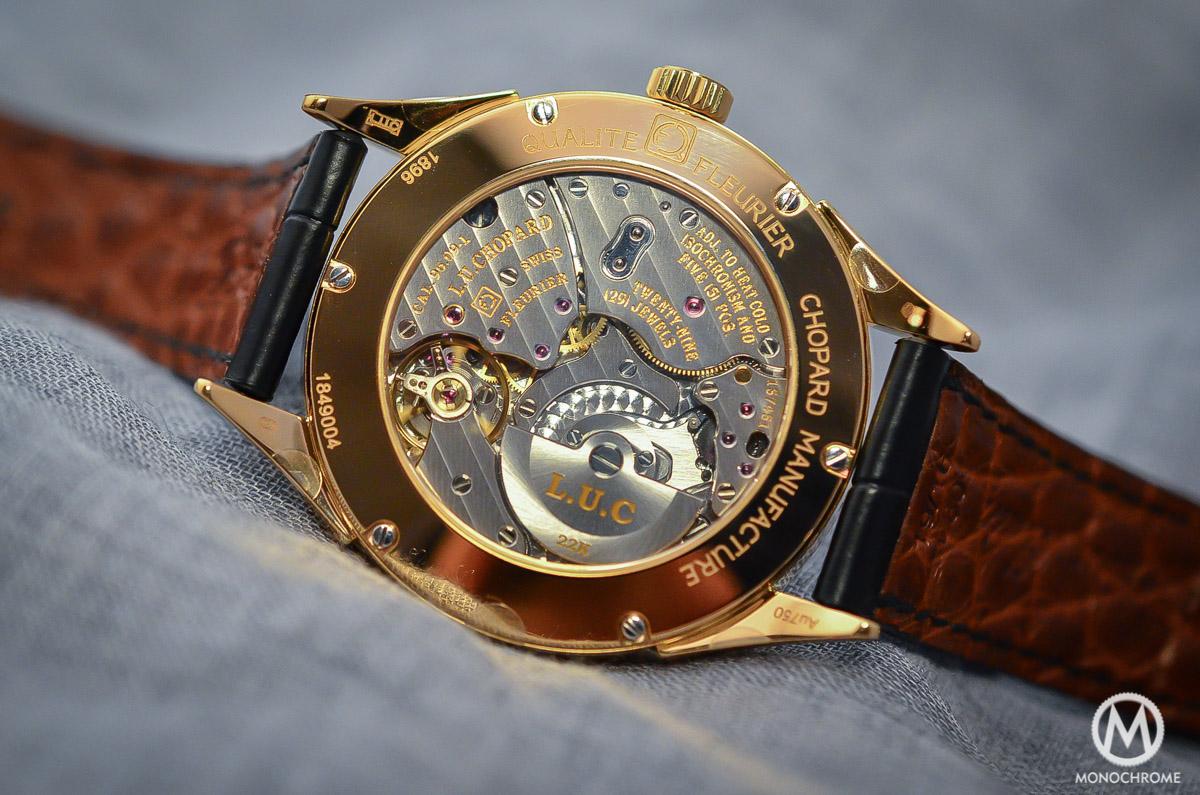 Chopard L.U.C Qualite Fleurier Ruthenium Chronometer - 5