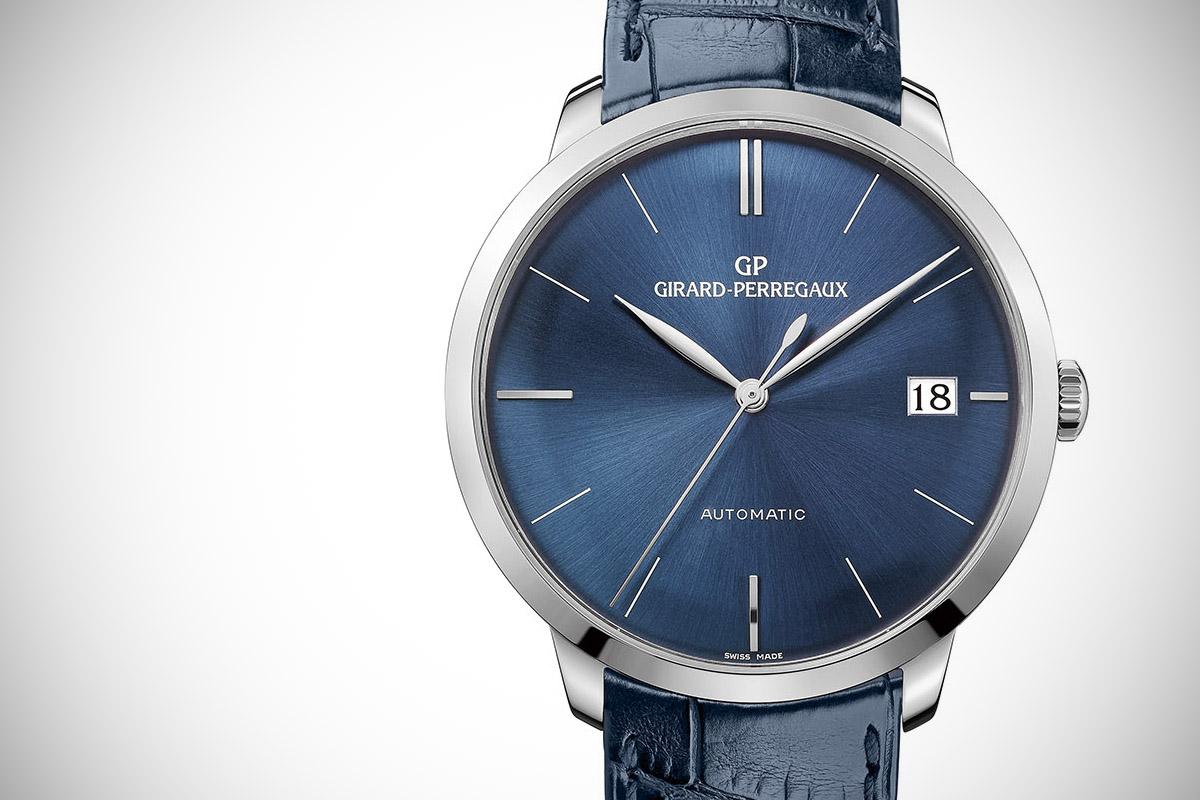 Girard Perregaux 1966 41mm blue dial - 4