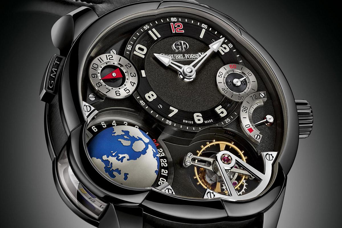 Greubel Forsey GMT titanium Black ADLC - 1