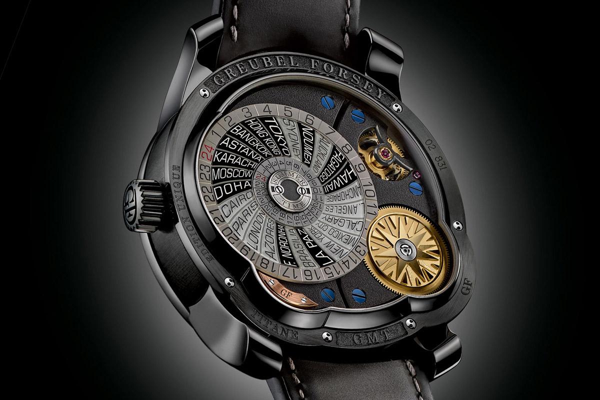 Greubel Forsey GMT titanium Black ADLC - 2