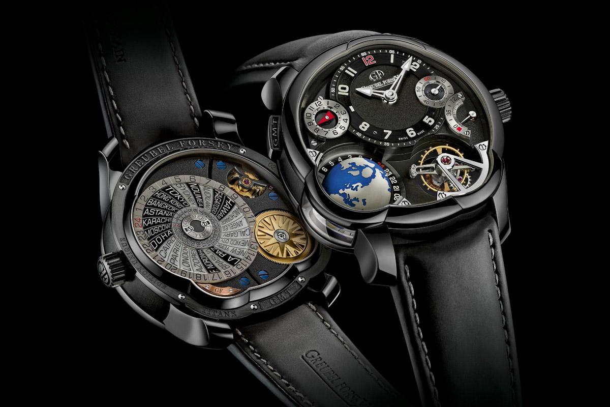 Greubel Forsey GMT titanium Black ADLC - 4