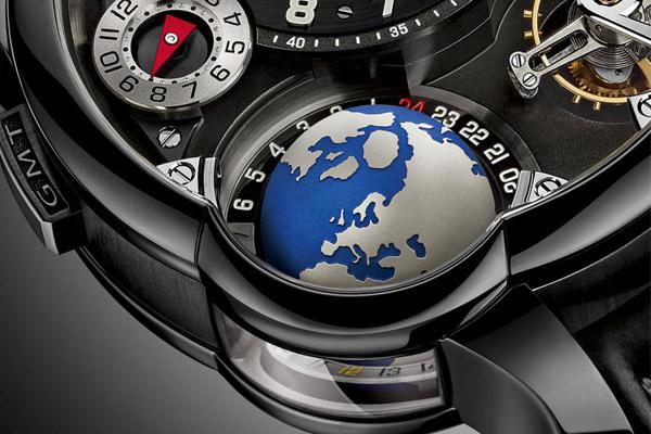 Greubel Forsey GMT titanium Black ADLC - 5