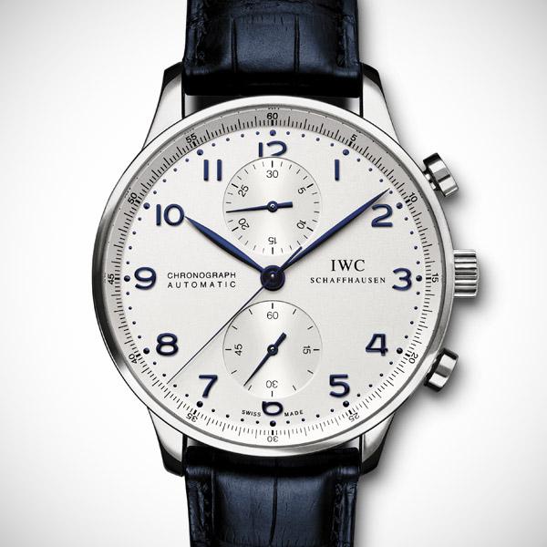 IWC Portuguese Chronograph Blue