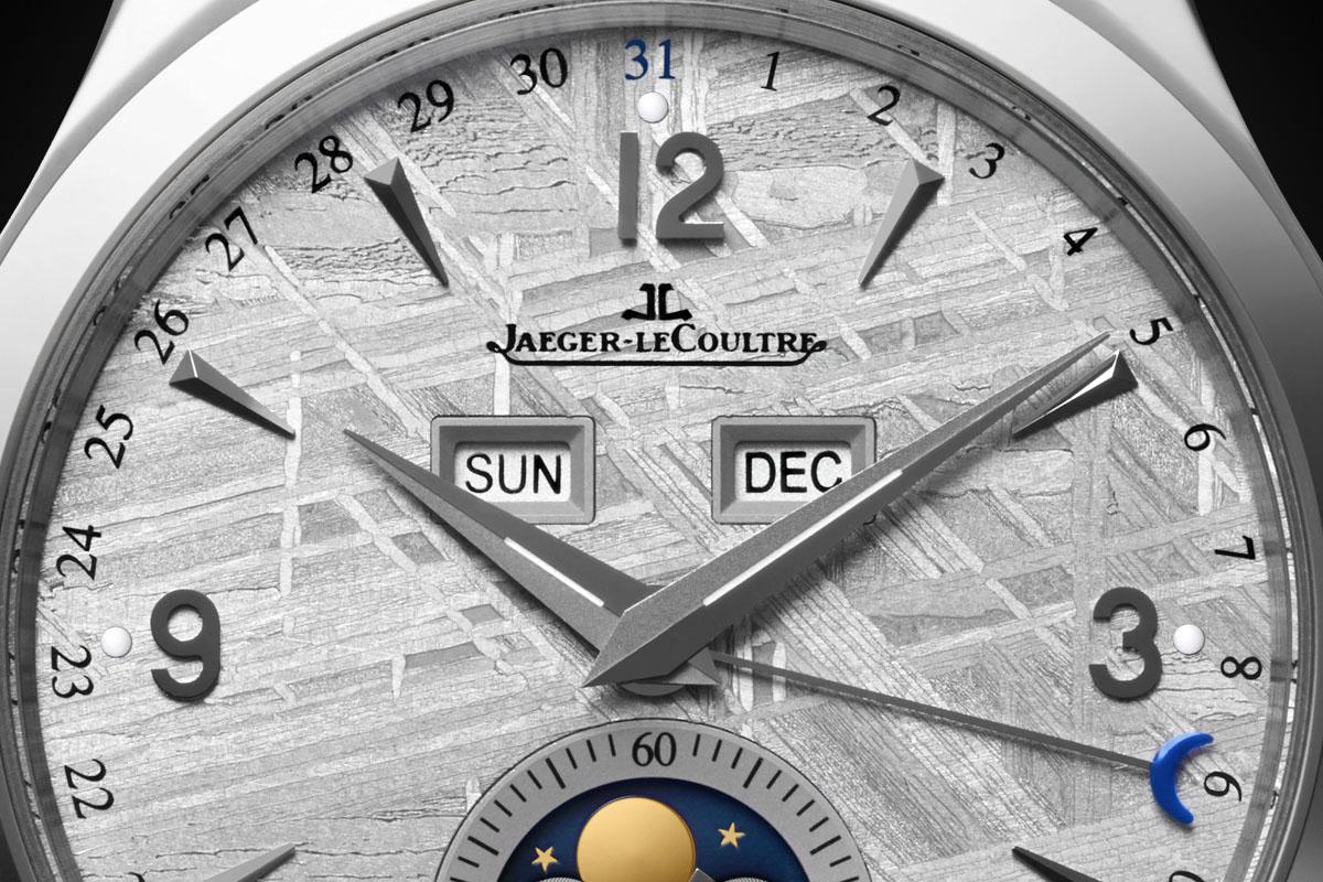 Jaeger-LeCoultre Master Calendar Meteorite dial - 4