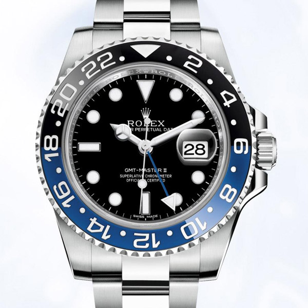 Rolex GMT Master II BLNR blue black