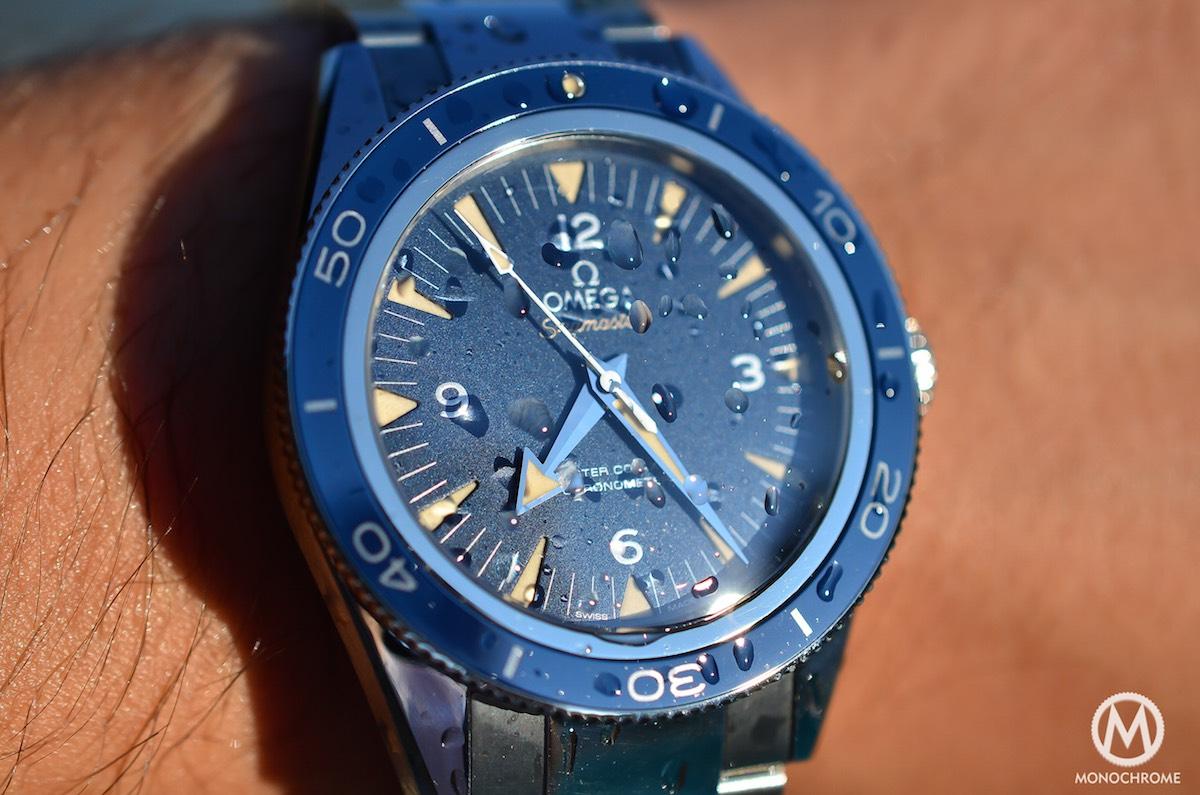 omega seamaster 300 master co-axial titanium - 12
