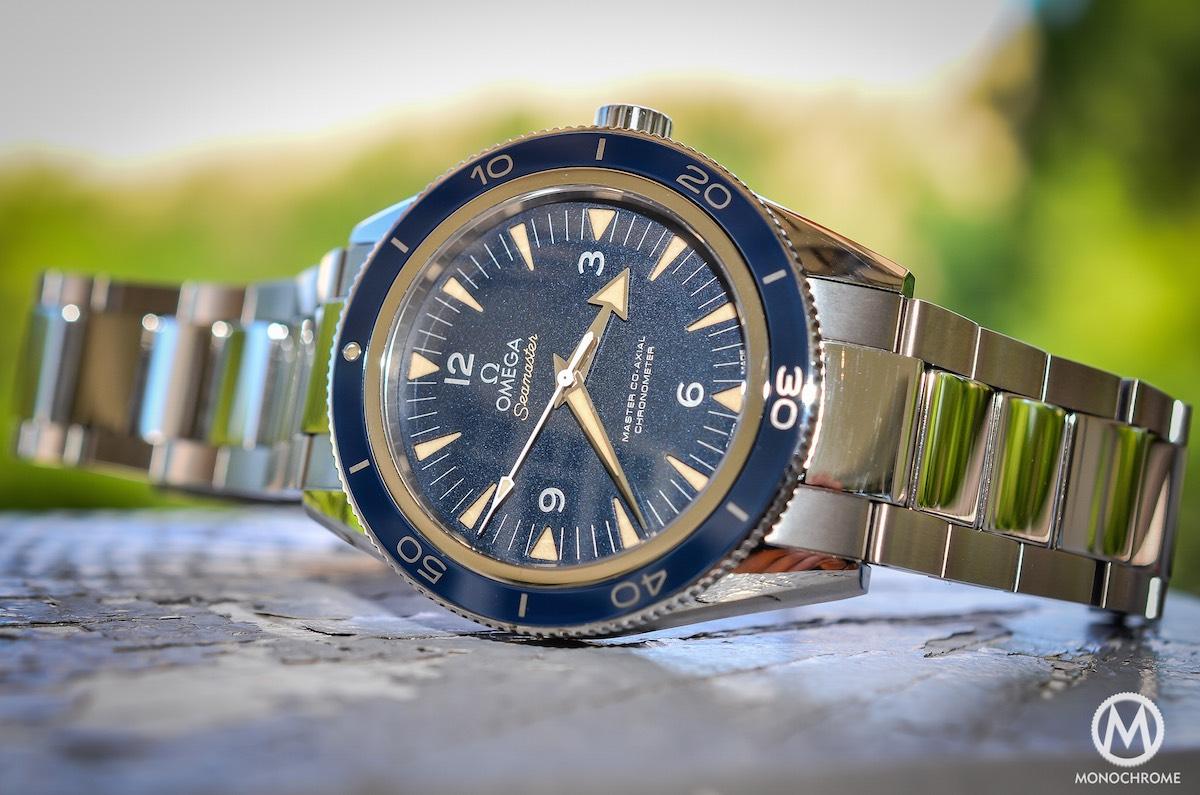 omega seamaster 300 master co-axial titanium - 16