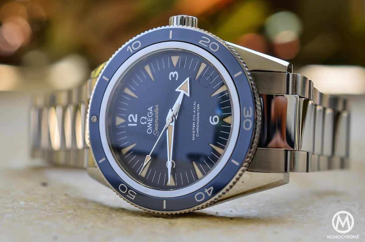 Omega Seamaster 300 Master Co-Axial in titanium - Review after a ... 76198903312c