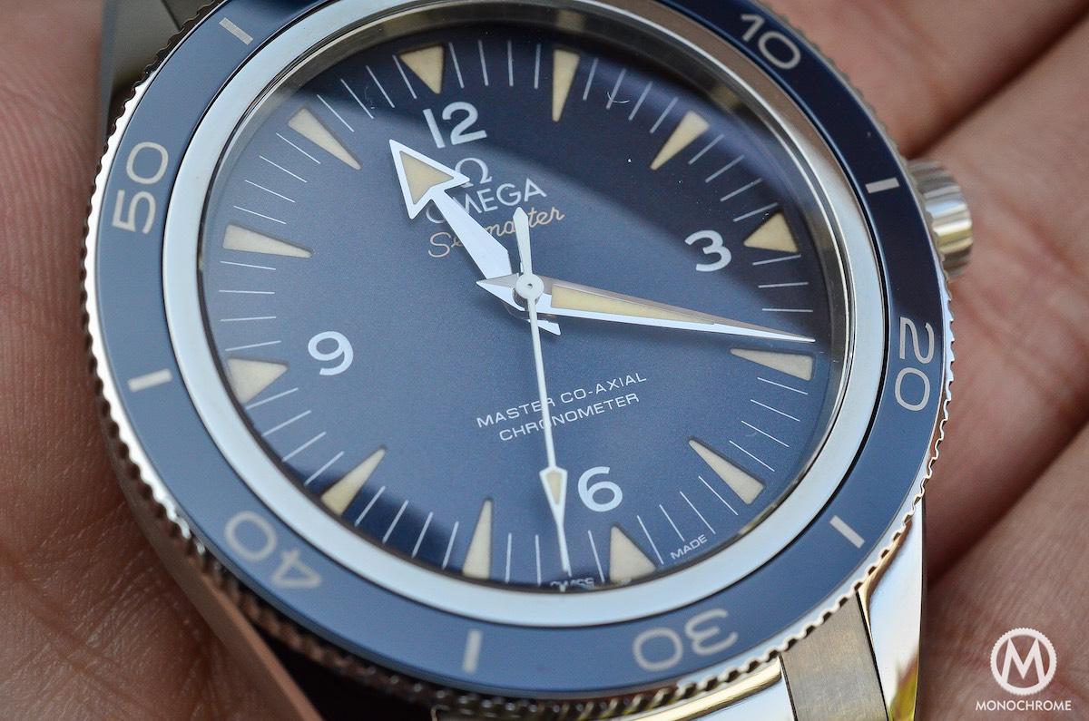 omega seamaster 300 master co-axial titanium - 5