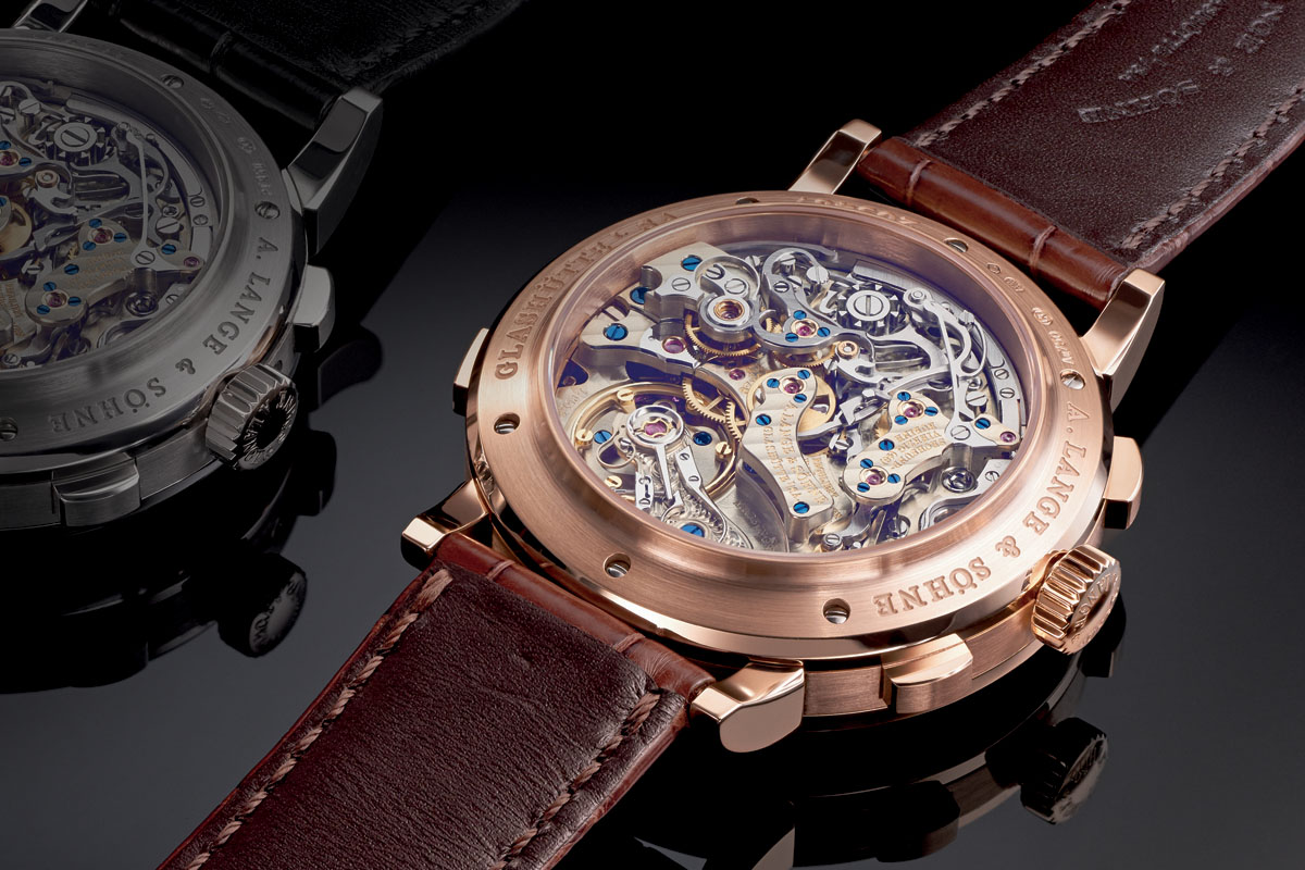 A. Lange Sohne Datograph Up-Down Pink Gold 2015 - 1