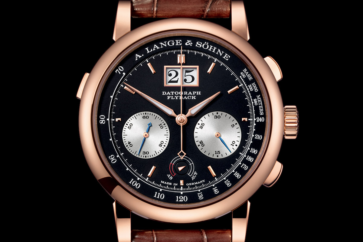 A. Lange Sohne Datograph Up-Down Pink Gold 2015 - 3