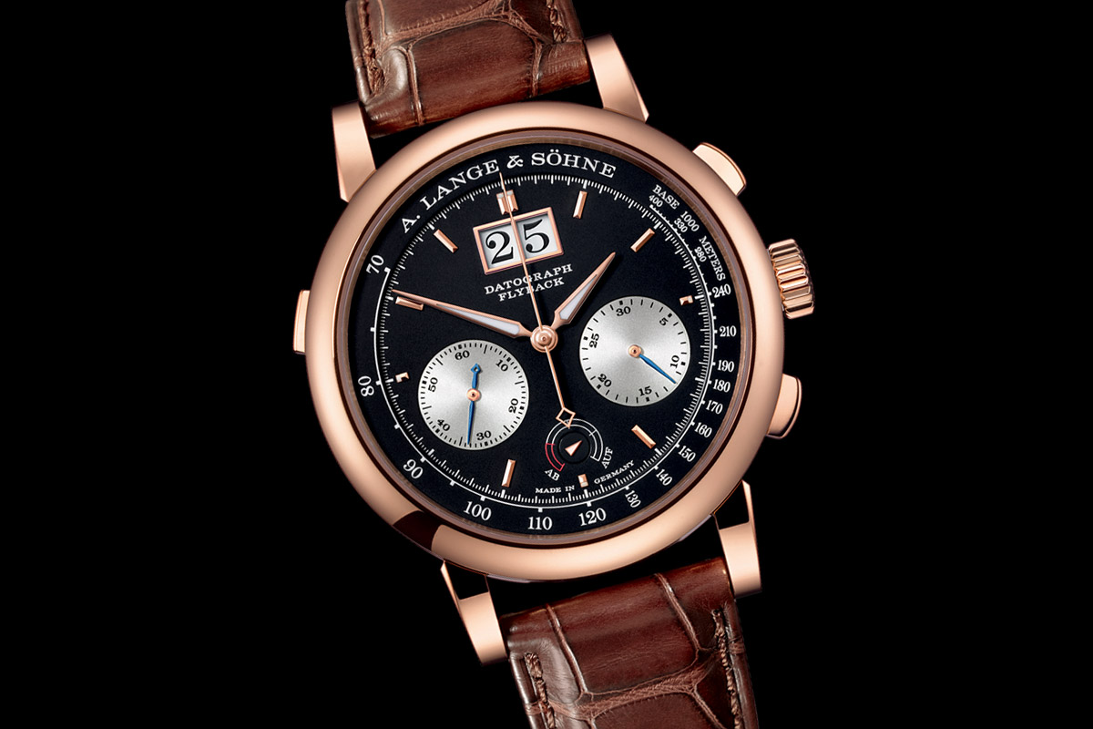 A. Lange Sohne Datograph Up-Down Pink Gold 2015 - 4
