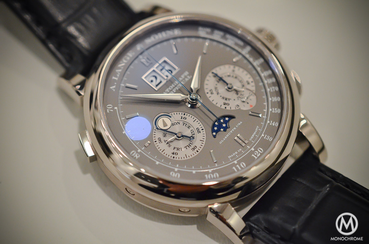 A. Lange and Sohne Datograph Perpetual Grey Dial White Gold - 2015 edition - 5
