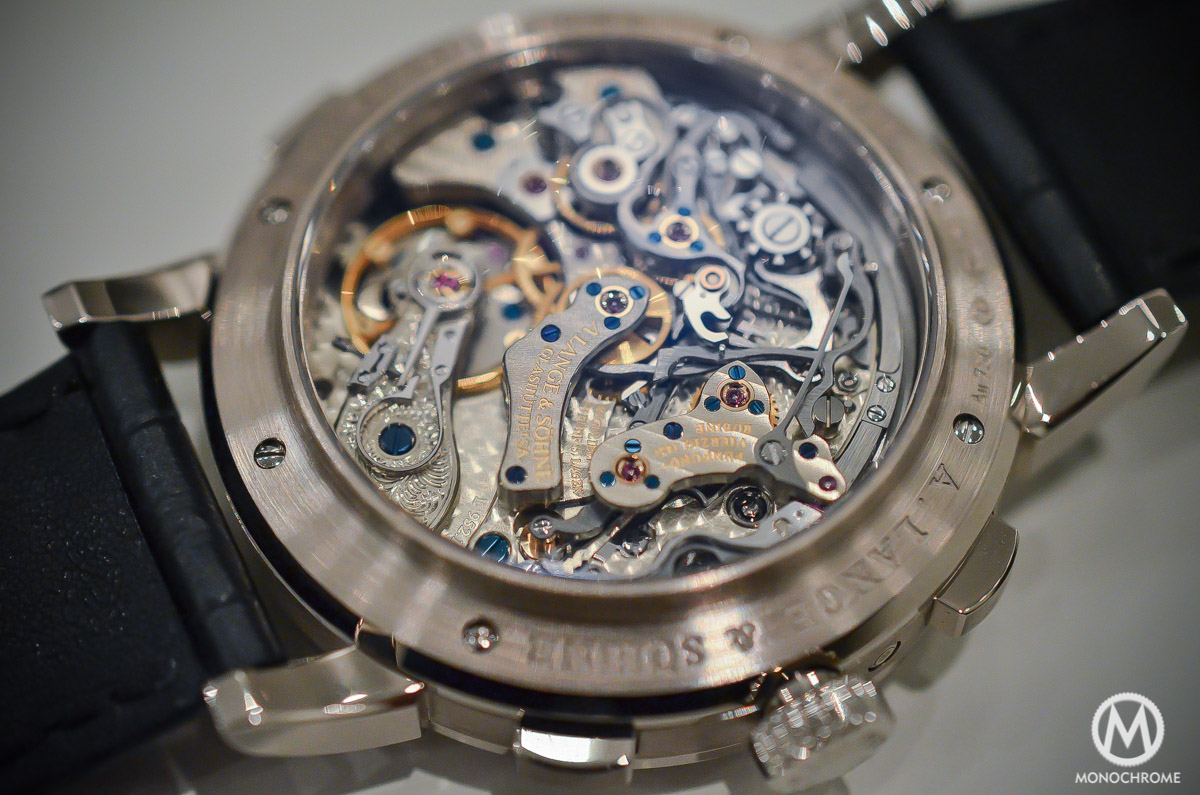 A. Lange and Sohne Datograph Perpetual Grey Dial White Gold - 2015 edition - 7