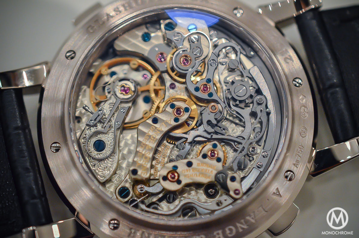 A. Lange and Sohne Datograph Perpetual Grey Dial White Gold - 2015 edition - 8