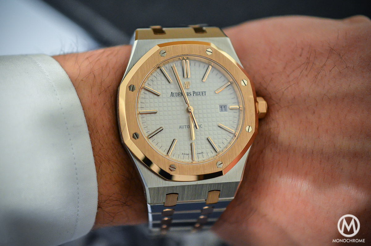 Audemars-Piguet-Royal-Oak-15400-Two-Tones-8