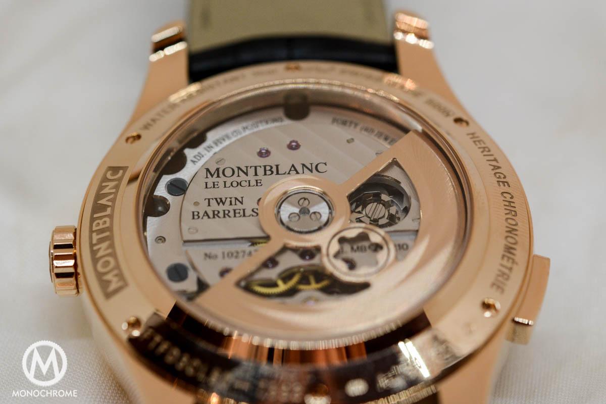 Montblanc ExoTourbillon Minute Chronograph