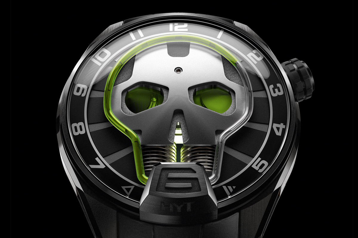 HYT Skull Green Eye - 2