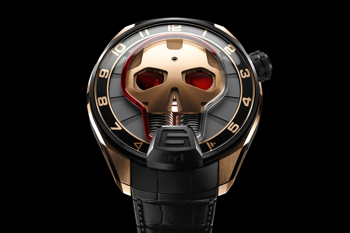 HYT Skull Red Eye - 1