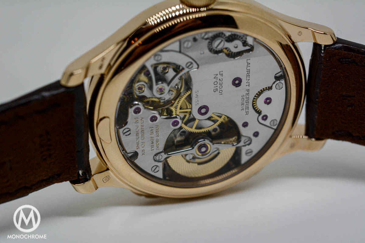 Laurent Ferrier Galet Traveller Cloisonne