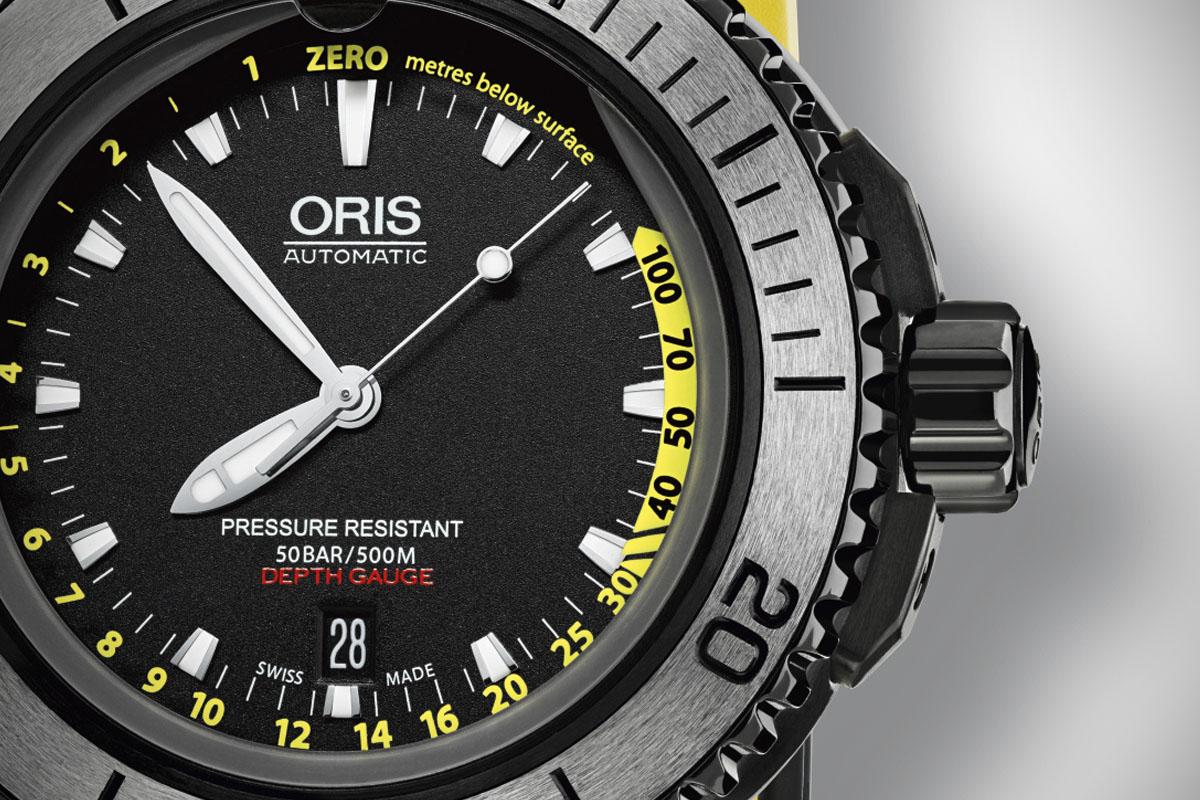 Oris Aquis Depth Gauge - 4
