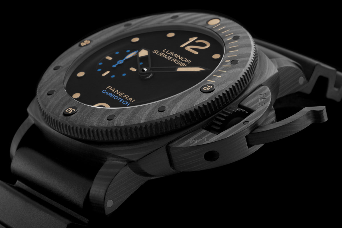 Panerai Luminor Submersible 1950 Carbotech 3 Days Automatic - 47mm PAM00616 - 1