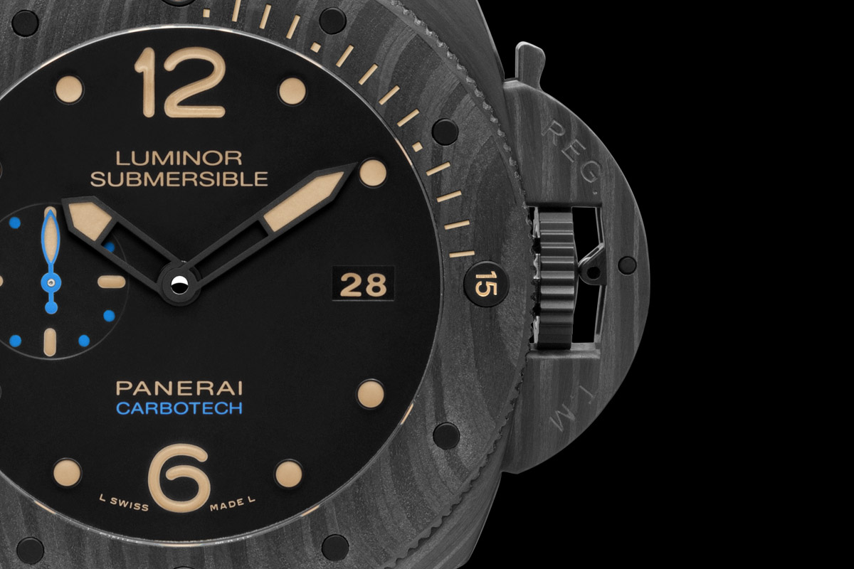 Panerai Luminor Submersible 1950 Carbotech 3 Days Automatic - 47mm PAM00616 - 4