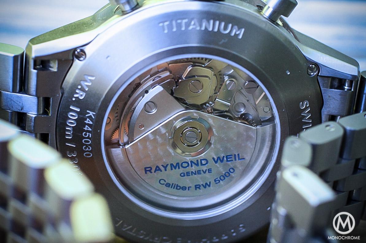 Raymond Weil Freelancer Titanium Chronograph - 3